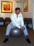 Stability Ball exercises for abs chop1