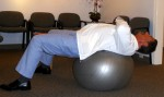 Stability Ball exercises for abs Crunch1