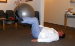 Stability Ball exercises for abs Lower abs